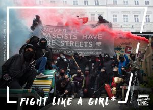 Sticker - Fight like a Grrrl*